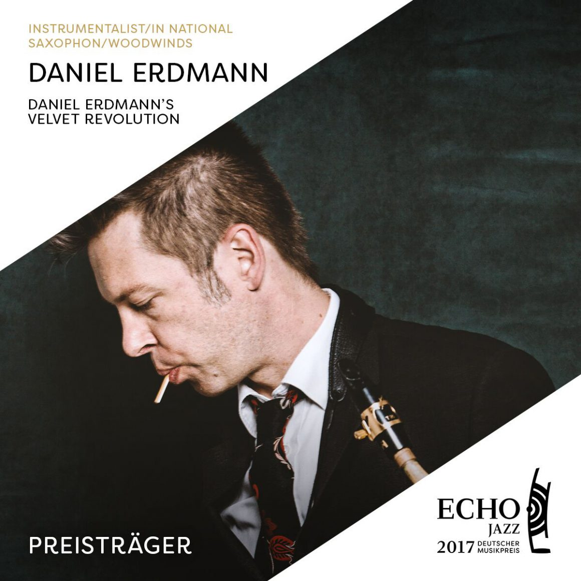 Daniel Erdmann Prix Echo Jazz 2017 !