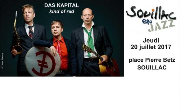 #DasKapital ce soir @SouillacEnJazz !
