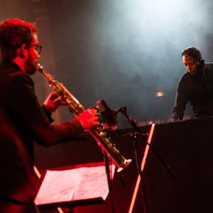 Jeff Mills Emile Parisien Coltrane Villette Jazz fest 1er sept