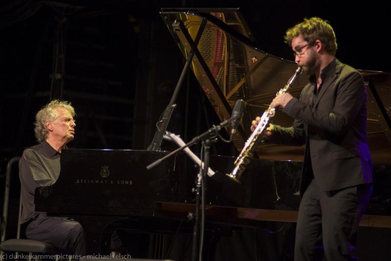 Emile Parisien & Joachim Kühn Philharmonie Luxembourg 11/01/18