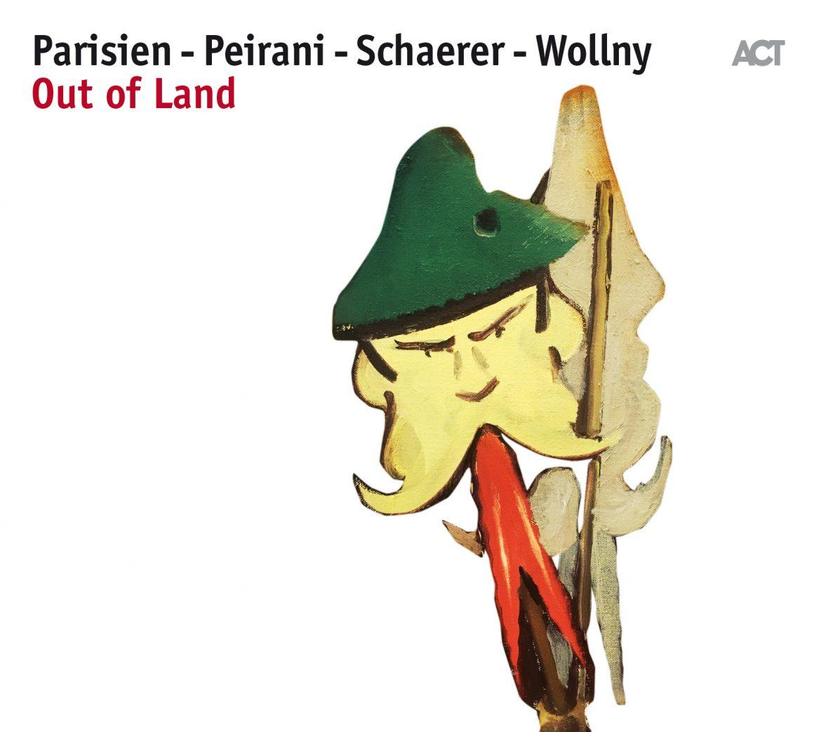 Out of Land Schaerer_Parisien_Peirani_Wollny en concert les 27 et 28 mars